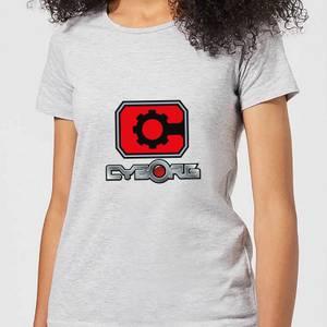 Justice League Cyborg Logo Women's T-Shirt - Grey