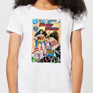 Justice League Wonder Woman Cover Women's T-Shirt - White