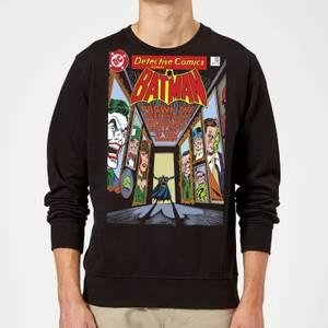 Batman The Dark Knight's Rogues Gallery Cover Sweatshirt - Black