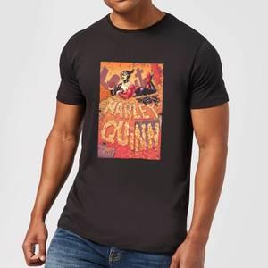 Batman Harley Quinn Cover Men's T-Shirt - Black