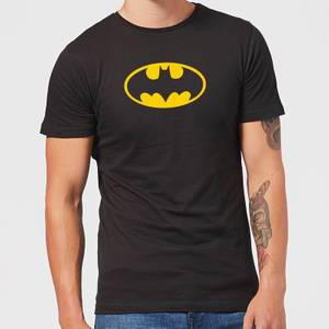 Justice League Batman Logo Men's T-Shirt - Black