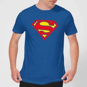 Justice League Supergirl Logo Men's T-Shirt - Royal Blue