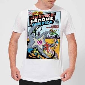 Justice League Starro The Conqueror Cover Men's T-Shirt - White