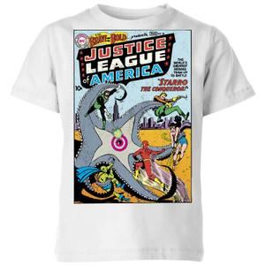 Justice League Starro The Conqueror Cover Kids' T-Shirt - White