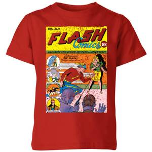 Justice League The Flash Issue One Kids' T-Shirt - Red