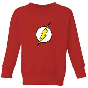Justice League Flash Logo Kids' Sweatshirt - Red
