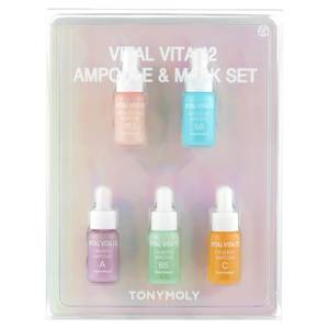 TONYMOLY The Vital Vita Ampoule + Mask Set