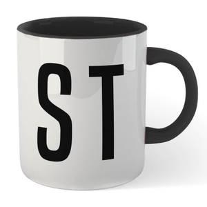 STD Mug - White/Black