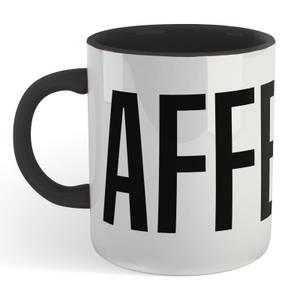 Caffeine Mug - White/Black