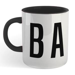 CBA Mug - White/Black
