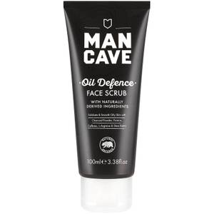 ManCave Oil Defence Face Scrub 100ml