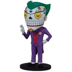 Statuette The Joker Calavera - Designer PVC DC Comics - 20cm Sideshow Collectibles