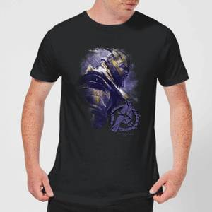 Avengers Endgame Thanos Brushed Men's T-Shirt - Black