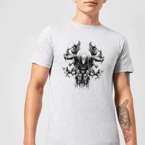 Avengers Endgame Thanos Rorschach Men's T-Shirt - Grey