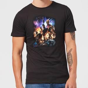 T-shirt Avengers Endgame Character Montage - Homme - Noir