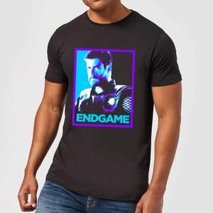 Avengers Endgame Thor Poster Men's T-Shirt - Black