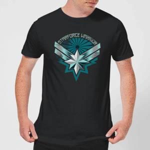 Captain Marvel Starforce Warrior Men's T-Shirt - Black