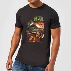 Marvel Incredible Hulk Dead Like Me Men's T-Shirt - Black