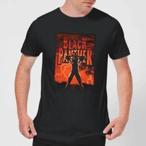 Marvel Universe Wakanda Lightning Men's T-Shirt - Black