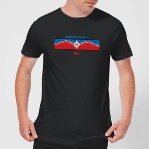 Captain Marvel Sending Men's T-Shirt - Black