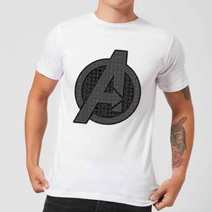 Avengers Endgame Iconic Logo Men's T-Shirt - White