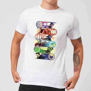 Avengers Endgame Original Heroes Men's T-Shirt - White