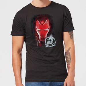 T-Shirt Avengers Endgame Iron Man Brushed - Nero - Uomo