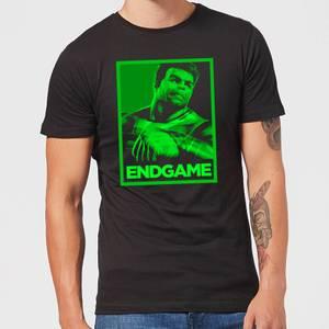 Avengers Endgame Hulk Poster Men's T-Shirt - Black