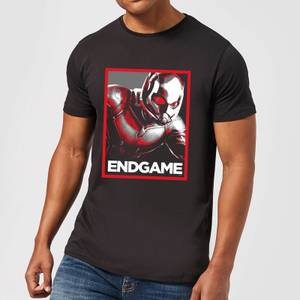 Avengers Endgame Ant-Man Poster Men's T-Shirt - Black