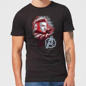 T-shirt Avengers Endgame Hawkeye Brushed - Homme - Noir