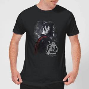 Avengers Endgame Thor Brushed Men's T-Shirt - Black