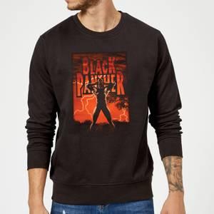 Marvel Universe Wakanda Lightning Sweatshirt - Black