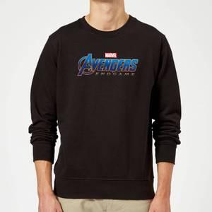 Avengers Endgame Logo Sweatshirt - Black