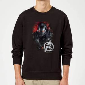 Avengers Endgame War Machine Brushed Sweatshirt - Black