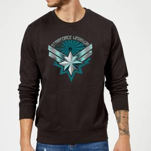 Captain Marvel Starforce Warrior Sweatshirt - Black
