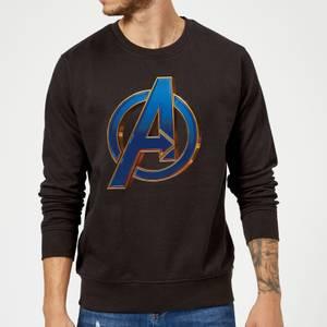 Avengers Endgame Heroic Logo Sweatshirt - Black