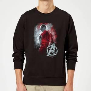 Avengers Endgame Nebula Brushed Sweatshirt - Black