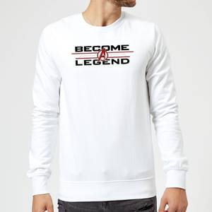 Avengers Endgame Become A Legend Sweatshirt - White