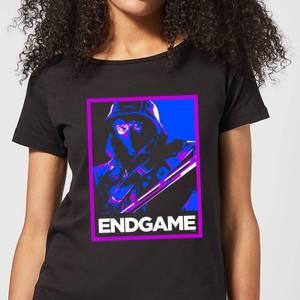 Avengers Endgame Ronin Poster Women's T-Shirt - Black