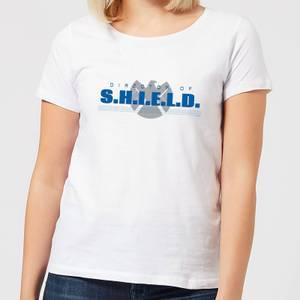 Marvel Avengers Director Of Shield Women's T-Shirt - White