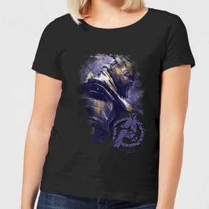 Avengers Endgame Thanos Brushed Women's T-Shirt - Black