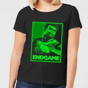Avengers Endgame Hulk Poster Women's T-Shirt - Black