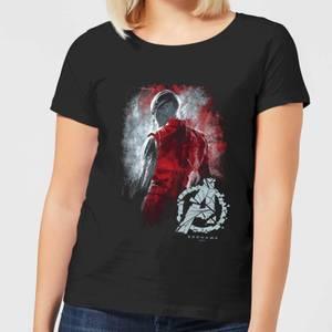 Avengers Endgame Nebula Brushed Women's T-Shirt - Black