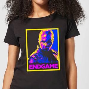 Avengers Endgame Nebula Poster Women's T-Shirt - Black