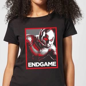 Avengers Endgame Ant-Man Poster Women's T-Shirt - Black