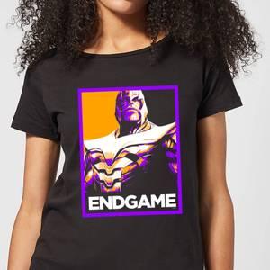 Avengers Endgame Thanos Poster Women's T-Shirt - Black