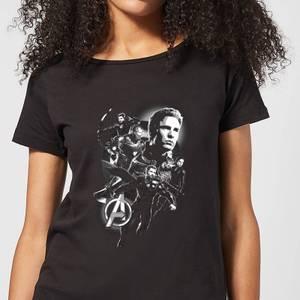 T-shirt Avengers Endgame Mono Heroes - Femme - Noir