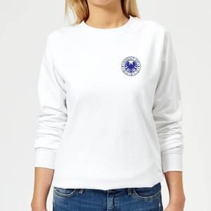 Marvel Avengers Agent Of Shield Women's Sweatshirt - White