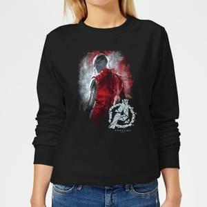 Avengers Endgame Nebula Brushed Women's Sweatshirt - Black