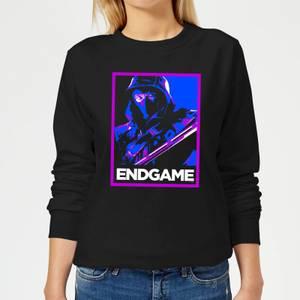 Avengers Endgame Ronin Poster Women's Sweatshirt - Black